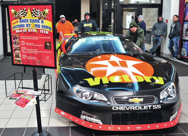 Mike Ullery | Daily Call Thursday was move-in night for the 2018 Race Cars & Future Stars event at the Miami Valley Centre Mall in Piqua. More than 50 racing machines will be on display through Sunday afternoon.