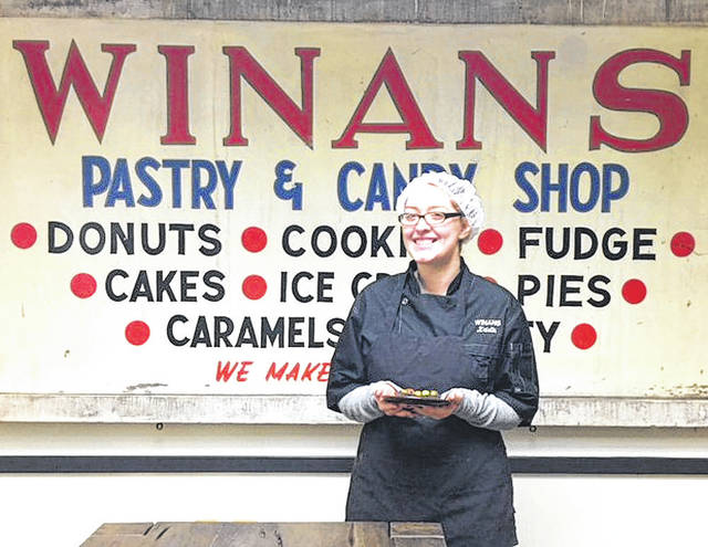 Provided photo Kristin Gambill from Winans Chocolates + Coffees recently graduated from Retail Confectioners International's Chocolate Boot Camp ™.