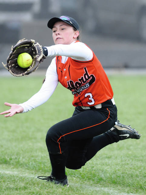 Ben Robinson/GoBuccs.com Chelsea Gill returns to the Bradford outfield this spring.