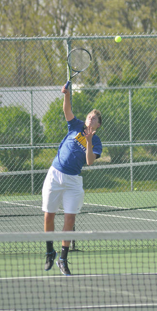 Rob Kiser/Call Photo Lehman Catholic's Griffin West was a district qualifier last year.