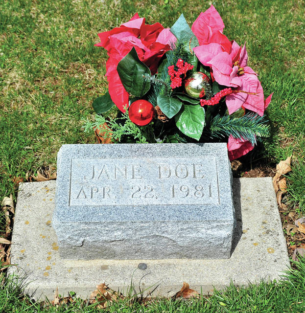 Mike Ullery | AIM Media Midwest The body of Jane Doe — now known to be 21-year-old Marcia Cross of Arkansas — rests under a simple marker at Riverside Cemetery in Troy. Although, until now, her identity was unknown, her grave receives visitors and the occasional spray of flowers. The headstone reflects the date of April 22, 1981, which was the day she was believed to have been murdered during the initial investigation.