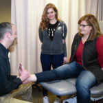 Mother, daughter's shared experiences include physical therapy