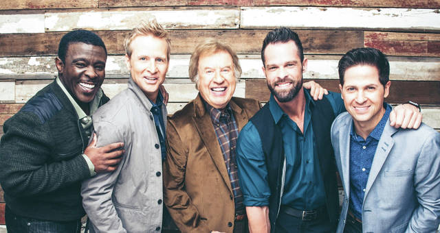 Provided photo The Gaither Vocal Band, featuring Grammy winner Bill Gaither, center, will perform at 7 p.m. Friday, June 15, at Hobart Arena in Troy.