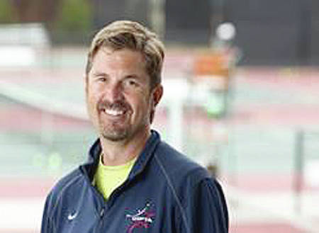 Photo Provided Former Lehman Catholic tennis standout Andy Booth will be inducted into the MVTCA Hall of Fame Wednesday.