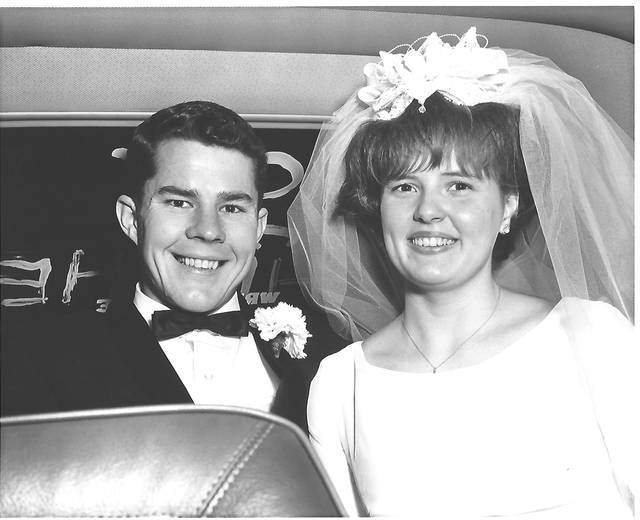 Provided photo John Oliver and Susan Kay (Hill) Davis in 1968.