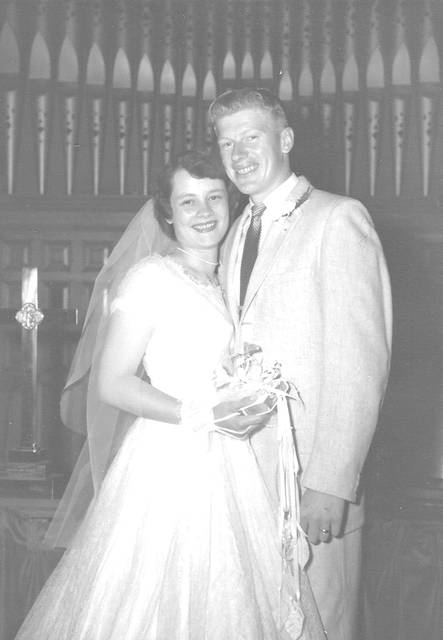 Neil and Shirley Clark in 1958