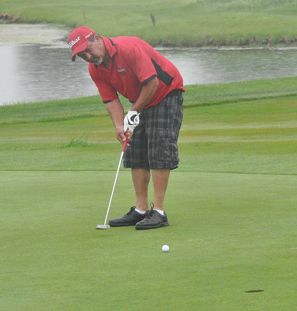 Rob Kiser/Call File Photo Jeff Jennings was second low gross in the Thursday Industrial League at Echo Hills.