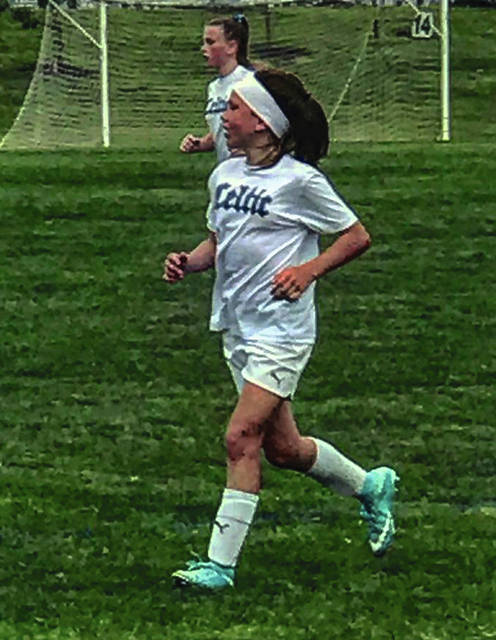 Photo Provided Kamryn Mikoajewski was recently selected for the Ohio South Olympic Development Program.