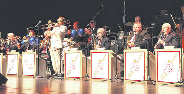 Provided photo The Tom Daugherty Orchestra, a 17-piece Las Vegas-style show and dance band, will perform as part of Downtown Tipp City's Community Night concert Friday, Aug. 3.