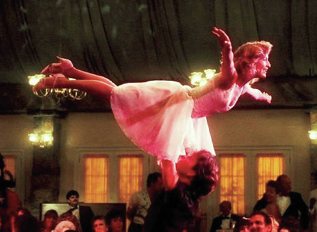 "Provided photo Patrick Swayze and Jennifer Grey star in the 1987 hit, ""Dirty Dancing,"" to be shown at the Troy-Miami County Public Library, 419 W. Main St., Troy, at 6 p.m. Thursday. Rated PG - adults only."