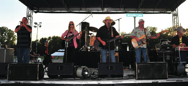Miami County Fair headliners for 2018, McGuffey Lane plays at the fairgrounds on Sunday.