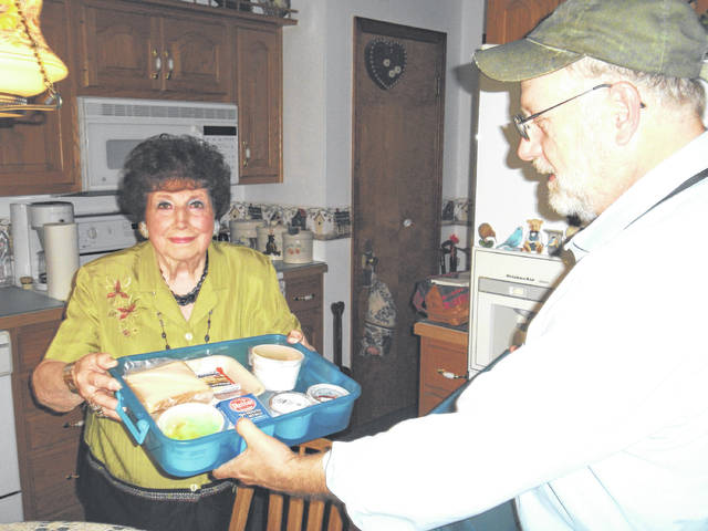 Provided photo Meals on Wheels of Piqua is one of the many organizations that receive funding through one or more of the donor advised funds held by The Piqua Foundation.