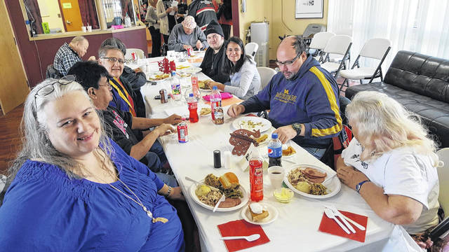 Thanksgiving is a family affair for SafeHaven staff, volunteers and members.