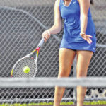 Lehman doubles team takes third at D-II tennis sectional