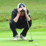 Newton boys golf team wins district to earn first state berth; Jamison medalist with 73