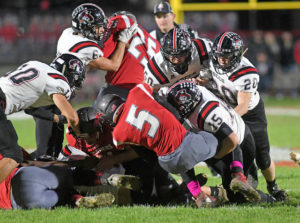 Covington football team cruises past Twin Valley South