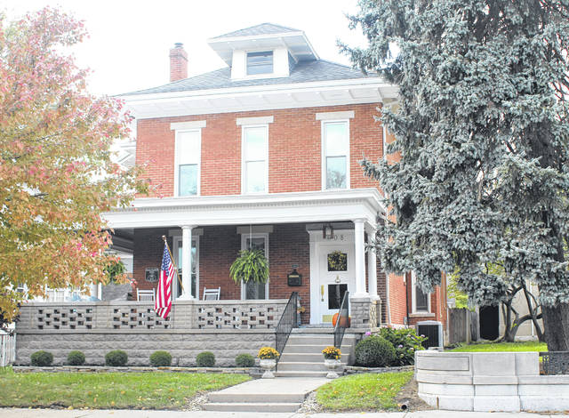 Provided photo The Hughes-Wilkinson House, located at 608 N. Downing St. in Piqua, is included along the 2018 Holiday Home Tour on Dec. 8.