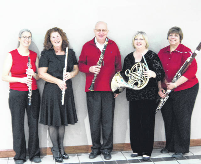 "Provided photo Quintessential Winds will be among the performers at Piqua Arts Council's free ""Sounds of the Season"" holiday concert on Saturday, Dec. 8, at St. James Episcopal Church. Music will begin at approximately 3:15 p.m."