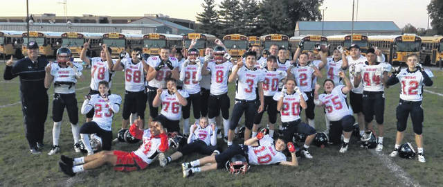 Provided Photo The Piqua freshman football team finished 9-0 and won the GWOC North title.