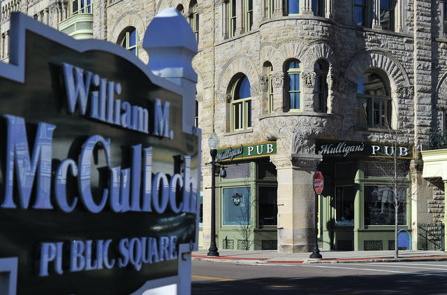 Mike Ullery | Daily Call Mulligans's Pub on William M. McCulloch Square in Piqua will be closing its doors on Dec. 31 at midnight after the city of Piqua decided not to renew its lease with the business.