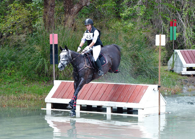 Provided photo Andy Armstrong, daughter of Dr. Mark and Cameron Armstrong of Troy, was recognized as the Maryland Horse Trials 2018 IRP (Instructor Recognition Program) Top Instructor.