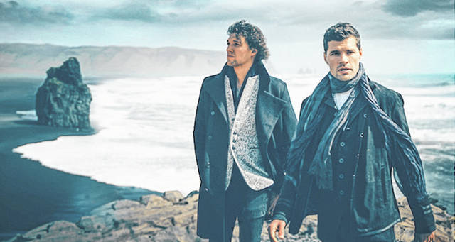 Provided photo The two-time Grammy award-winning duo King & Country, made up of Joel and Luke Smallbone, will bring their live show to Troy's Hobart Arena on Saturday, March 16 as part of their burn the ships | world tour 2019 where they'll perform music from their third studio album, burn the ships.