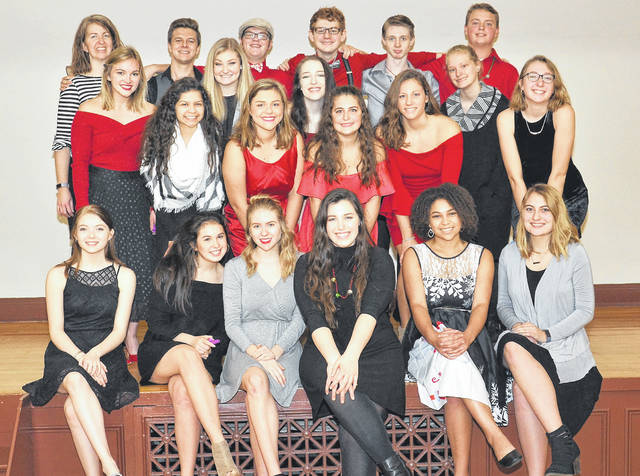 Provided photo Troy High School's pop a cappella choir, The Troy Tones, will be the featured entertainment for the YWCA Evening Dessert at 7 p.m. Tuesday, Jan. 22.