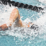 Condon makes podium in D-II state swimming