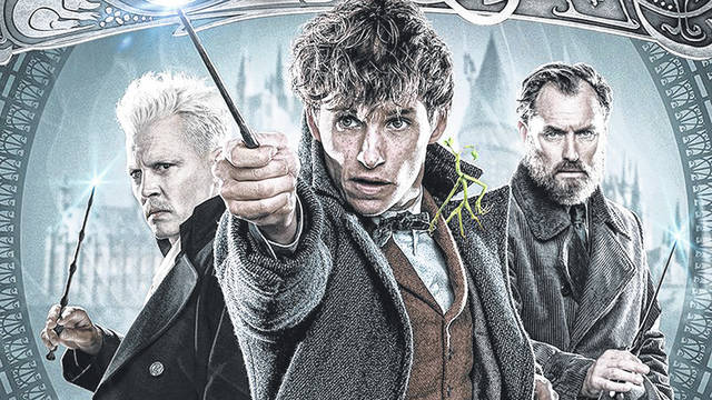"Provided photo A free showing of ""Fantastic Beasts: The Crimes of Grindelwald,"" featuring Johnny Depp, Eddie Redmayne and Jude Law, will be held at 7:10 p.m. Thursday in the Robinson Theater at Edison State Community College."