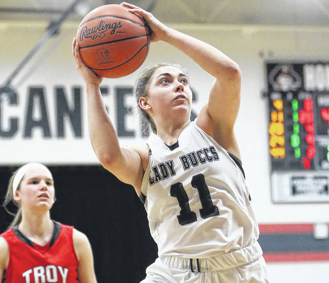 Lee Woolery | Miami Valley Today file photo Covington's Sammi Whiteman will be playing Thursday in the District 9 All-Star Game at Troy High School.