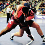 Four wrestlers alive in D-I district wrestling tournament; Troy Christian, Covington 1-2 in Troy D-III tournament