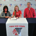 Kelsey Bachman signs letter of intent to play for Otterbein University