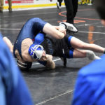 Miami East wrestling advances four to D-III district semifinals
