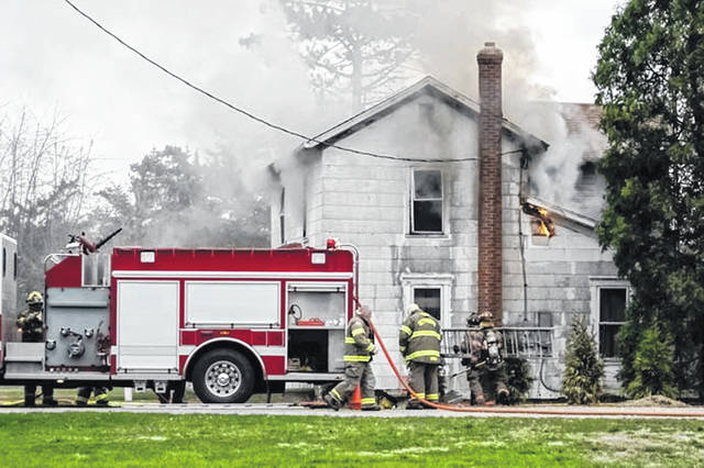 Fire claims house in Gettysburg
