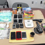 One arrested following search warrant