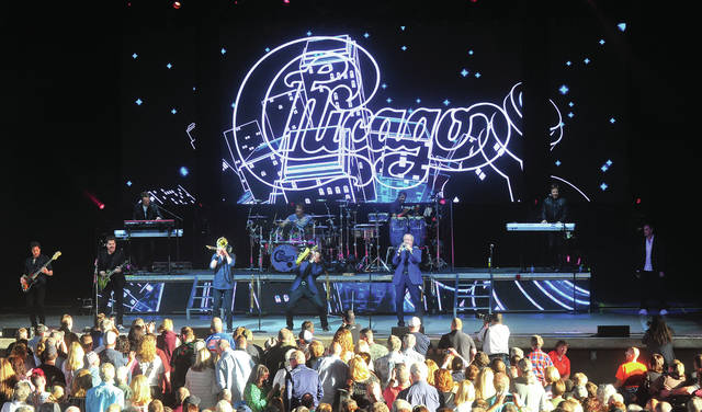 Legendary rock band <em>Chicago</em> performed to a sold-out crowd at The Rose Music Center in Huber Heights on Sunday. &#169;2019 Miami Valley Today, All rights reserved