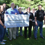 ITW Hobart presents check to United Way