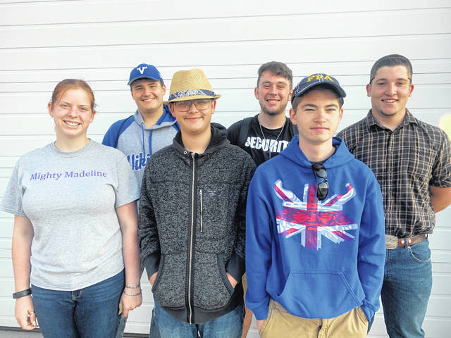 Provided photo FFA members attending the 2019 FFA Camp were (front row, L to R) Rylee Puthoff, Carter Gilbert, Evan Massie (back row, L to R) Grayson Jacobe, Jeffrey Blackford, and Randy Anthony.