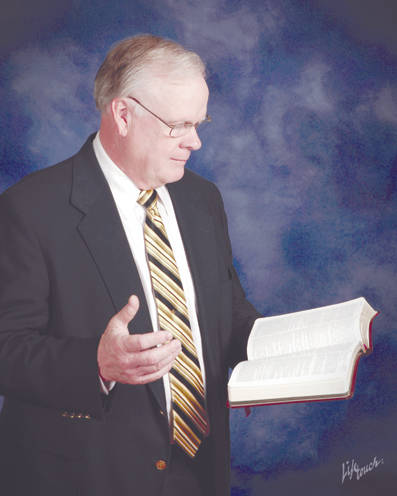 Provided photo Pastor Donald Wells, a former Piqua resident, will offer two presentations on his collection of Bibles on Saturday at the Miami Valley Centre Mall, Piqua.