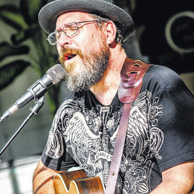 Courtesy photo Martin Koop will perform gritty, groovy original music at 5 p.m. on West Franklin Street during Troy's first-ever PorchFest on Saturday, Sept. 14.