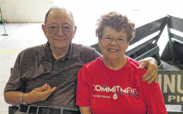 Provided photo Norman and Virginia (Martin) Wolfe of Troy are celebrating 60 years of marriage this month.
