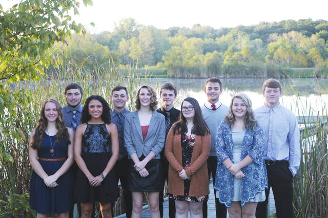 "Bradford High School has named its Homecoming court. The crowning will be at 6:30 p.m. before the game on Friday, Sept. 27. The homecoming dance will be Saturday starting at 7:30 p.m. This year's theme is ""Shipwrecked."" Court members, front row, from left to right, include Erica Gaynor, Mercedes Smith, Caroline Gleason, Kaitlynne Reineke, and Jessica Roth. Back row, Kegan Fair, Gaven Trevino, EJ Jones, Jay Roberts, and Wyatt Spangler."