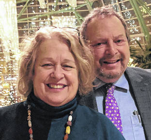 Provided photo Barbara and Leib Lurie of Troy will receive the 2019 University of Hartford Anchor Awards, the most prestigious award presented by the University of Hartford Alumni Association, on Oct. 18.