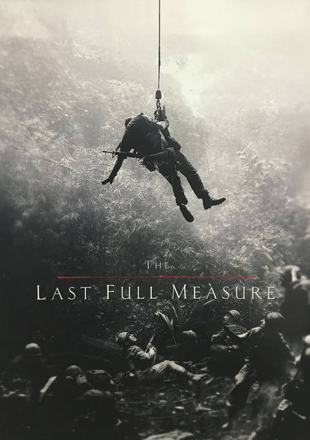 "Courtesy photo The Air Force Museum Foundation presented a special preview screening of the film ""The Last Full Measure,"" which tells the story of Airman First Class William H. Pitsenbarger, a Piqua native, on Thursday at the Air Force Museum Theatre."