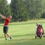 Newton boys golf finishes off perfect CCC season with win over Covington
