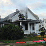 Fire causes significant damage to home