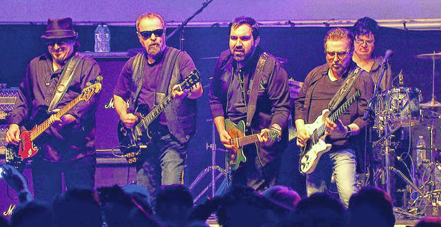 "Provided photo Eric Bloom, Donald ""Buck Dharma"" Roeser, Jules Radino, Richie Castellano and Danny Miranda of Blue Oyster Cult will appear at BMI Indoor Speedway in Versailles on Saturday, Nov. 9."
