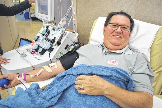 Provided photo Tipp City donor David Dexter.