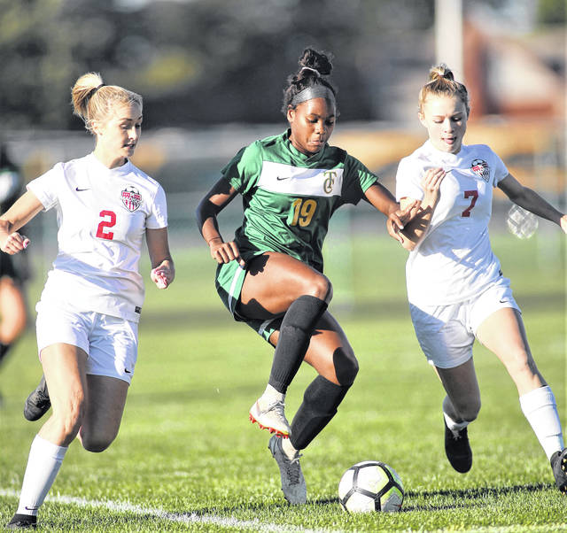 Lee Woolery | Miami Valley Today file Troy Christian's Lexi Salazar signed a national letter of intent to attend Liberty University and play Division I college women's soccer recently.