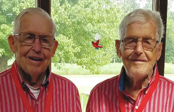 Provided photo John (left) and Joseph ( right) Patten are celebrating their 90th birthday.